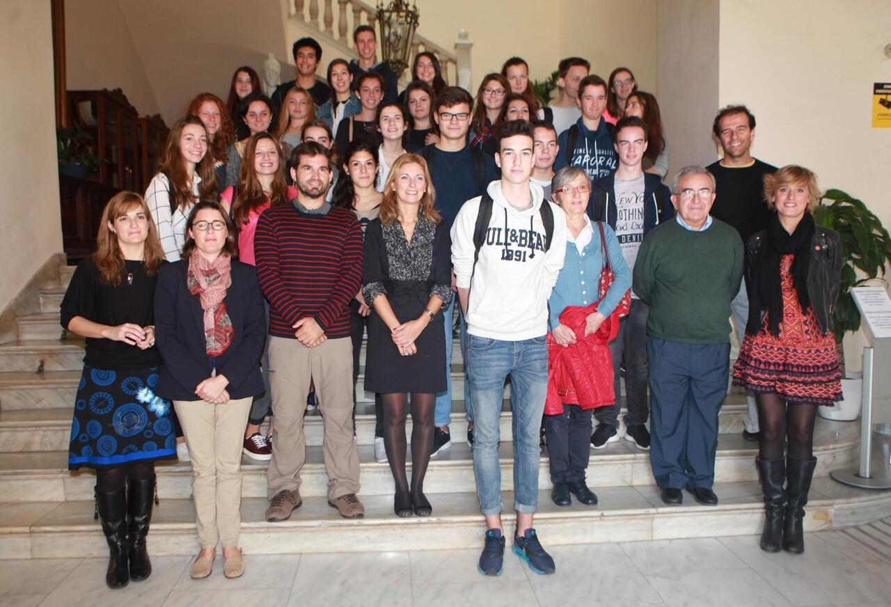 recepció alumnat francés 2