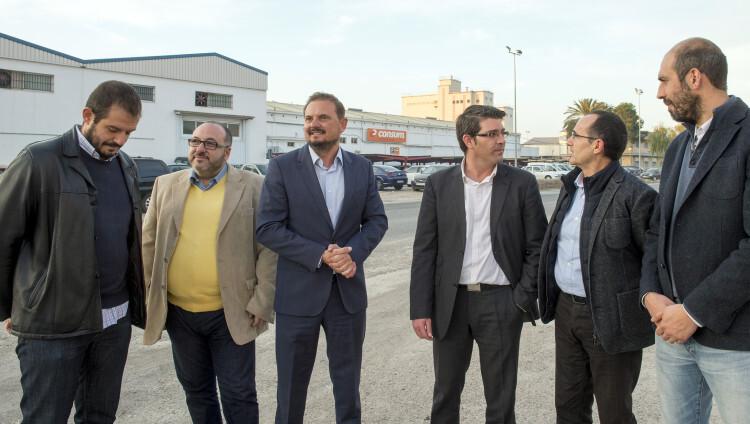 1.- Visita obras vías de acceso al polígono de Silla foto_Abulaila (3)