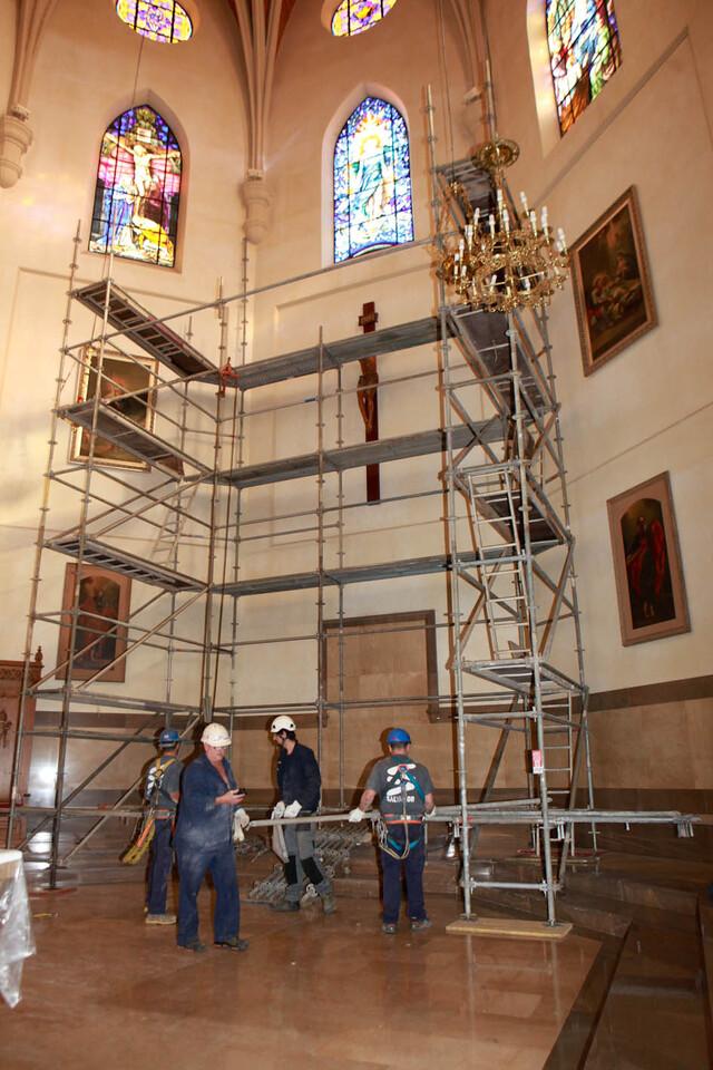 151209 trabajos concatedral cuadro Traver Calzada  (1)