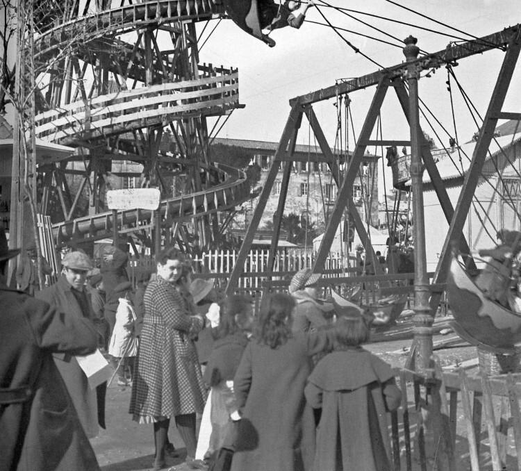 1924 Feria Navidad en solares antigua estacion del Norte (actual Paseo Ruzafa)