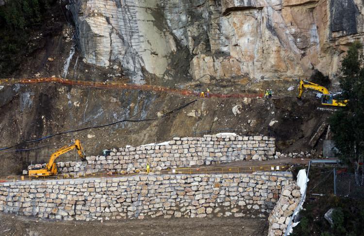 2.- Obras de la carretera Cortes de Pallás
