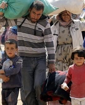 950.000 personas llegaron a Alemania en busca de asilo y auxilio huyendo de sus países.