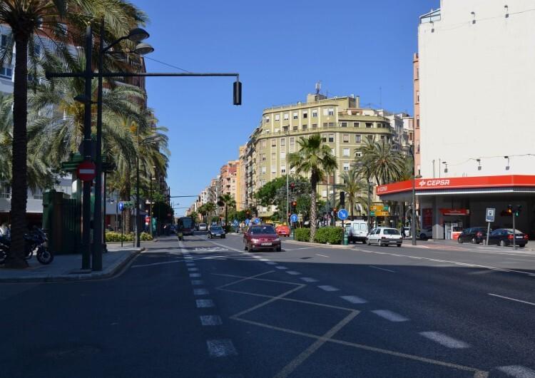 Avinguda_de_Peris_i_Valero,_València