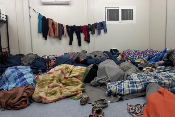 Bienvenidos Refugiados-España denuncia la pésima gestión del área para las familias del campamento de Moria en Lesbos. (Foto-Bienvenidos Refugiados-España).