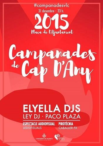 Cartel de las Campanadas de 2015.