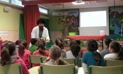 Cerca de 90 escolares de Picanya participan en la primera jornada educativa sobre uso responsable del agua organizada por Aigües de l'Horta.