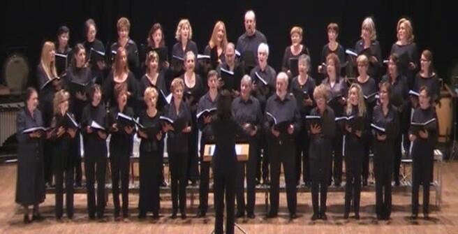 Cor de l'Unió Musical de l'Eliana.