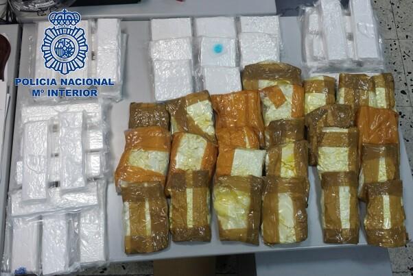 Desarticulan con 35 detenciones la mayor red de traficantes de cocaína de León.
