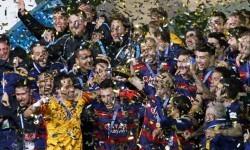 El Barcelona vence al River Plate por 3 a 0 y se convierte en el campeón del Mundial de Clubes.