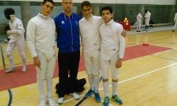 El Esgrima Maritim asegura su participación en el Campeonato de España Infantil.