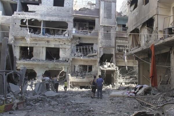 El Estado Islámico acuerda entregar tres barrios al régimen de Bashar Al Assad.