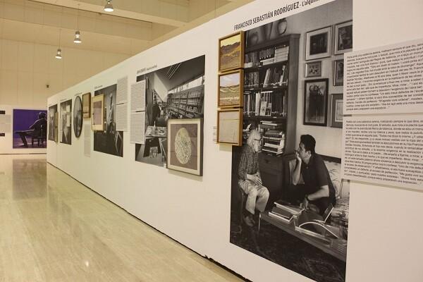 El MUA y la Fundación Bancaja inauguran la exposición 'Estudios de Arte'.