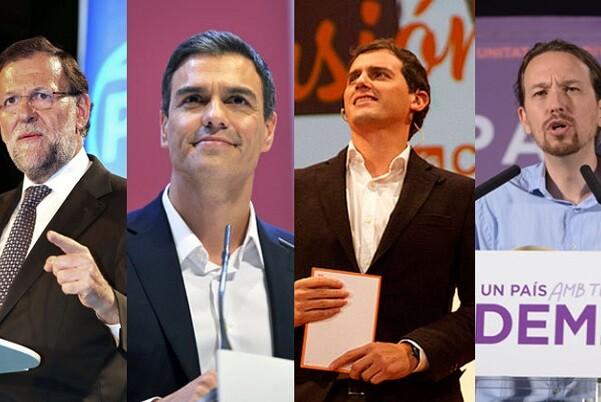 El PP ganaría las elecciones con 28'8 por ciento, Podemos obtendría un 21'7 por ciento, PSOE un 20'5 por ciento y Ciudadanos un 15'2 por ciento.
