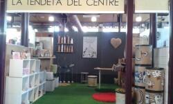 El centro ocupacional Mare de Déu del Castell presenta los artículos que confeccionan los usuarios en sus talleres.