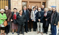 El director general de Vivienda da a conocer la situación del Cabanyal a representantes de Europa Nostra.
