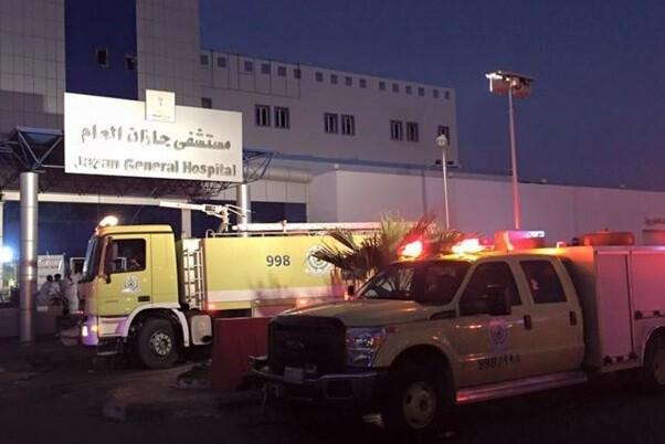 El incendio de un hospital en Arabia Saudí deja por el momento 31 muertos y más de 100 heridos.