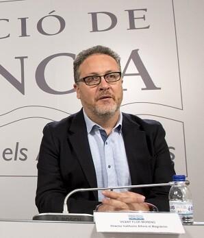 El nuevo director de la IAM, Vicent Flor, agradeció su nombramiento al presidente Jorge Rodríguez. (Foto-Abulaila).