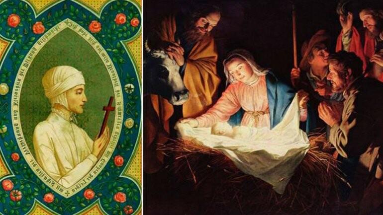 El relato de la mítica beata que vio el nacimiento de Cristo