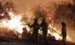 En Cantabria, el número de incendios activos asciende a 18.