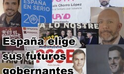 España decide su futuro en las elecciones más abiertas de su reciente historia democrática.