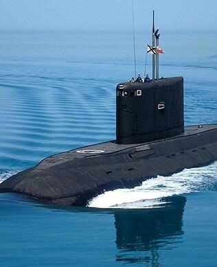 Este submarino cuenta con un moderno sistema de misiles multifuncionales.