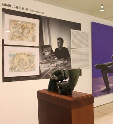 'Estudios de Arte', que estará abierta al público en el MUA hasta el 16 de enero de 2016.