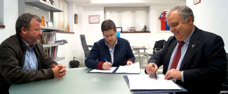 Firma convenio Fertiberia Puerto sagunto