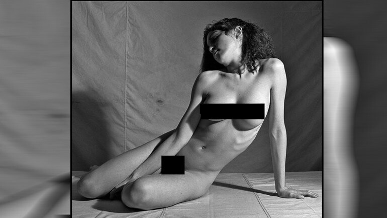 Fotos inéditas del desnudo de Madonna a los 20 años (1)