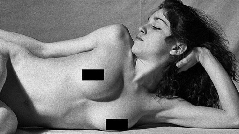 Fotos inéditas del desnudo de Madonna a los 20 años (2)