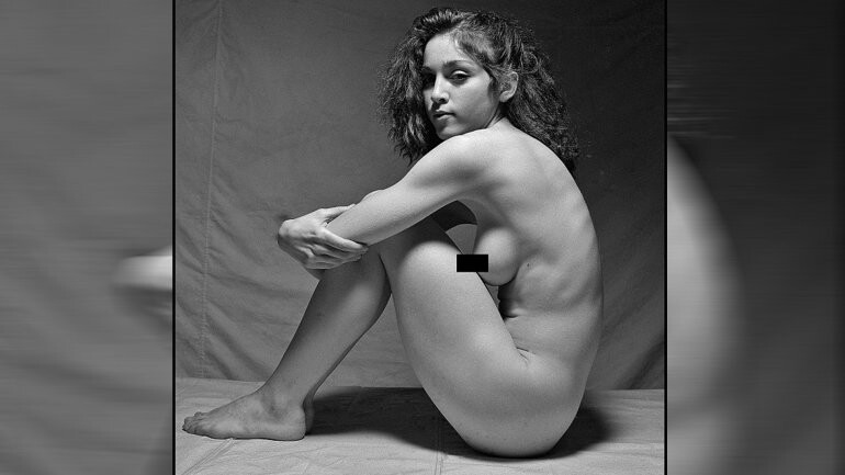 Fotos inéditas del desnudo de Madonna a los 20 años (3)