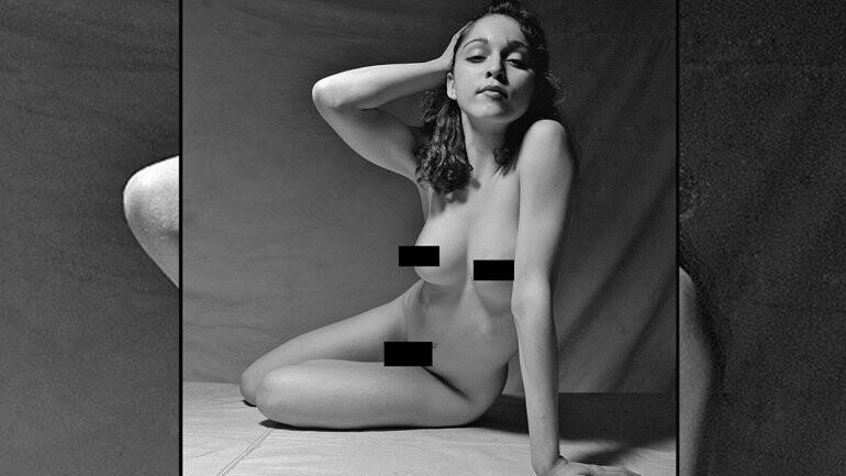 Fotos inéditas del desnudo de Madonna a los 20 años (5)