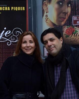 Frías y Sáiz vuelven a reunirse en un espectáculo de larga trayectoria escénica. (Foto-R.Fariña).