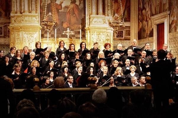 Fundación Bancaja ofrece en la Iglesia del Patriarca de Valencia su tradicional concierto 'Retaule de Nadal'.