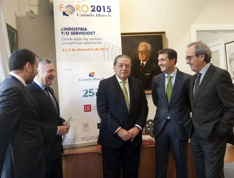 Hoy comienza II foro Cañada Blanch para analizar las ventajas competitivasde la economía valenciana y sus posibilidades en el escenario global (3)