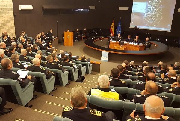 Ignacio Cosidó inaugura la I Convención Nacional de mandos de Policía Nacional y Policía Local.