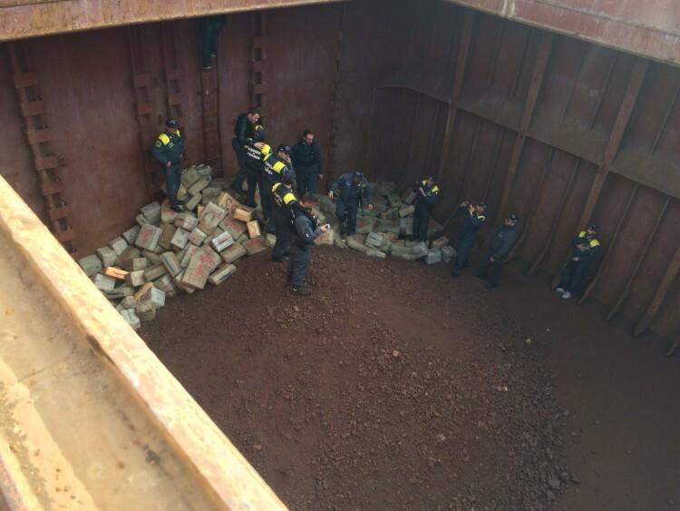 Incautadas cerca de 13 toneladas de hachís en una operación en la que han colaborado varias policías europeas (4)