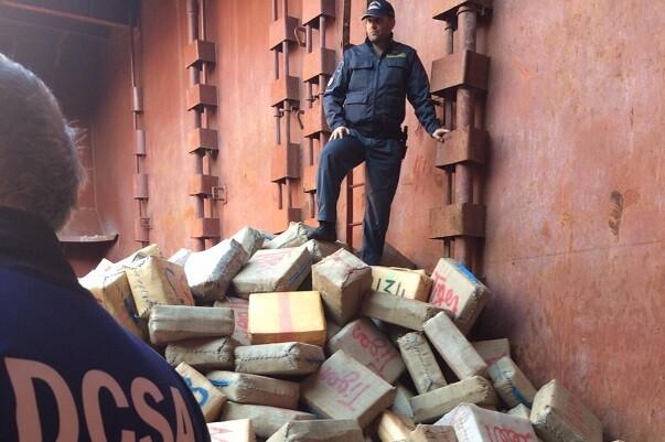 Incautadas cerca de 13 toneladas de hachís en una operación entre varias policías europeas.