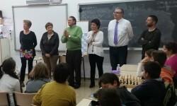 Innovador proyecto educativo de ajedrez en Cheste.