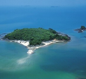 Isla del Gallo en la actualidad.