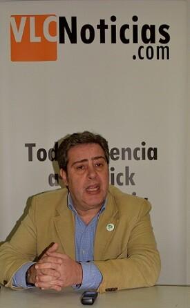 José María Llanos es el presidente Provincial de VOX Valencia. (Foto-Robeerto Fariña).