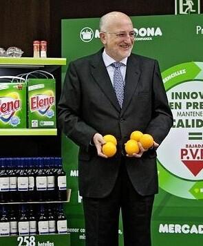 Juan Roig a logrado impulsar Mercadona a los niveles de las grandes empresas extranjeras.