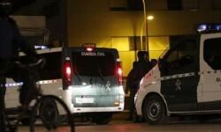 La Guardia Civil detiene a tres personas por los incidentes ocurridos en Roquetas del Mar.