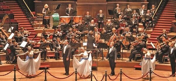 La Strauss Festival Orchestra está integrada por profesores y solistas de la mayor calificación musical.