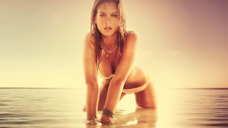 La supermodelo Bar Refaeli fue detenida en Israel (1)
