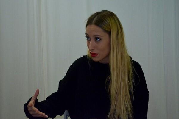 Lara Taylor se confiensa como una mujer muy sentimental. (Foto-Roberto Fariña).