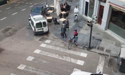 Las bicicletas no pueden ir por las aceras, sino por carriles señalizados (10)
