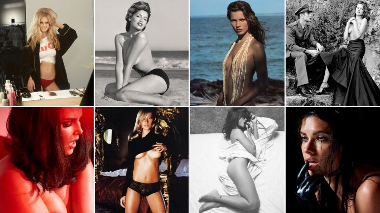 Las mejores fotografías de la historia de los calendarios Pirelli (1)
