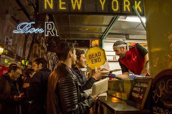 Los Food Trucks conquistan la Feria del Automóvil de Valencia.
