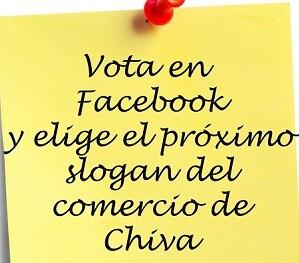 Los chivanos eligen el slogan de la próxima campaña de comercio local. - copia