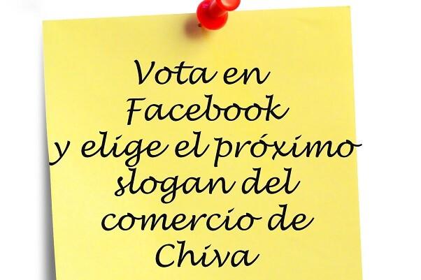 Los chivanos eligen el slogan de la próxima campaña de comercio local.